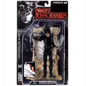 Bonecos Tim Burton :: Boneco Edward Mãos de Tesoura (Edward Scissorhand) raro