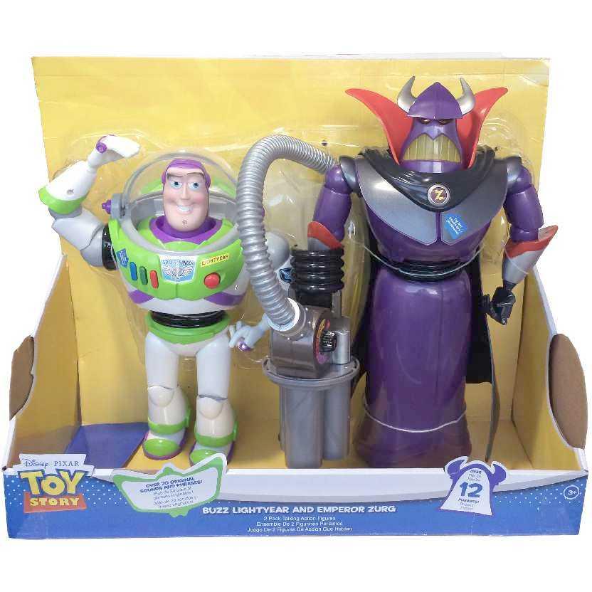 Bonecos Toy Story Imperafor Zurg E Buzz Lightyear Com Som