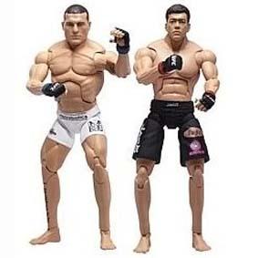 Bonecos UFC Jakks Pacific :: Boneco do Shogun Rua e Boneco do Lyoto Machida