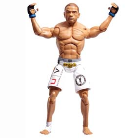 Bonecos UFC Jakks Pacific :: Boneco do Thiago Alves (aberto) Pitbull Action Figure