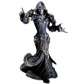 Bonecos Warcraft DC Unlimited s-8 :: Forsaken Priestess Confessor Dhalia (aberto)