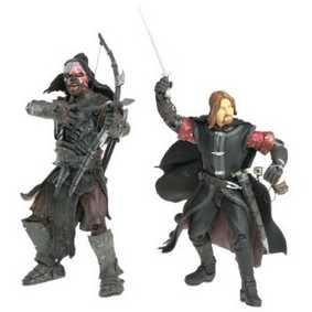 Boromir vs Lurtz (aberto) O Senhor do Anéis