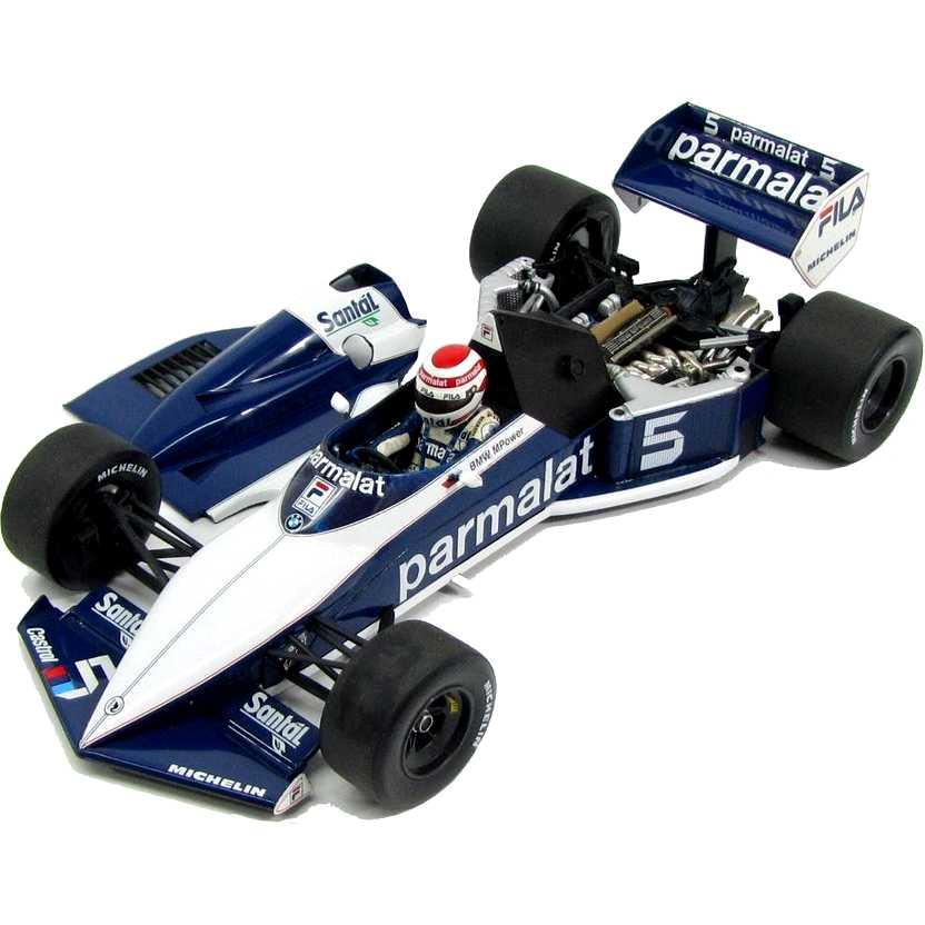 Brabham BMW BT52  Nelson Piquet (1983) World Champion marca Minichamps escala 1/18