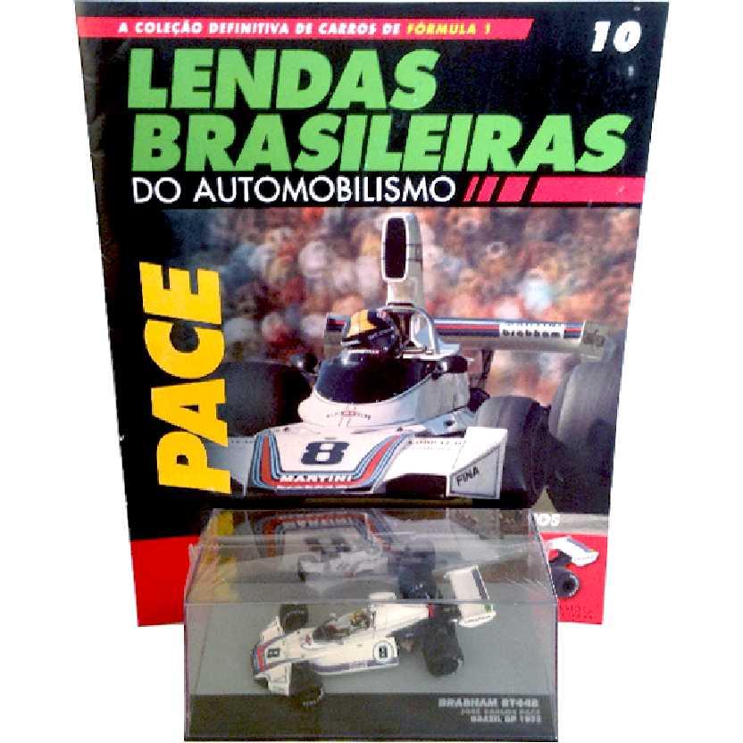 Brabham BT44B José Carlos Pace Lendas Brasileiras #10 do Automobilismo escala 1/43