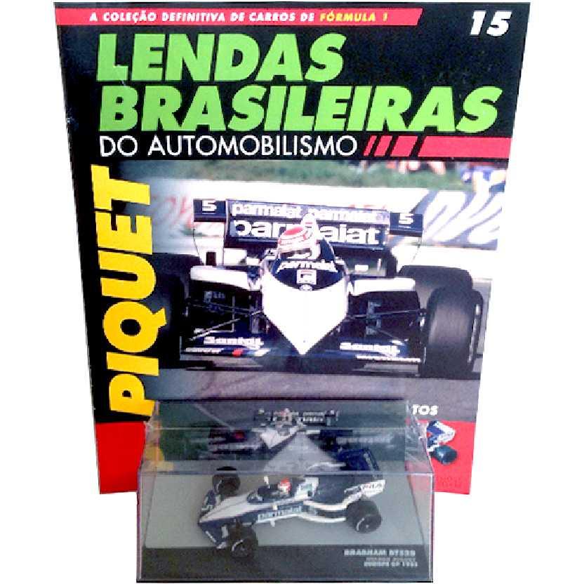 Brabham BT52B Nelson Piquet Lendas Brasileiras #15 do Automobilismo escala 1/43
