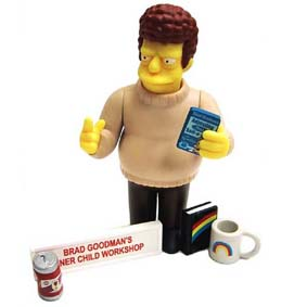 Brad Goodman Simpsons All Star Voices Series 2 (aberto)