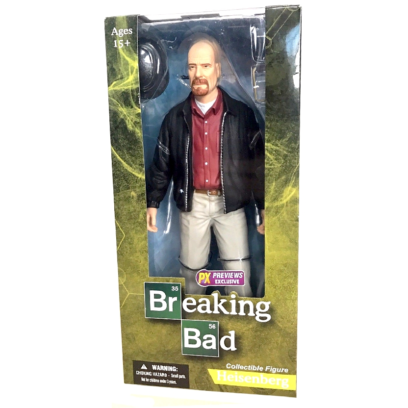 Breaking Bad Heisenberg Walter White PX Previews Mezco (30 cm) Action Figure