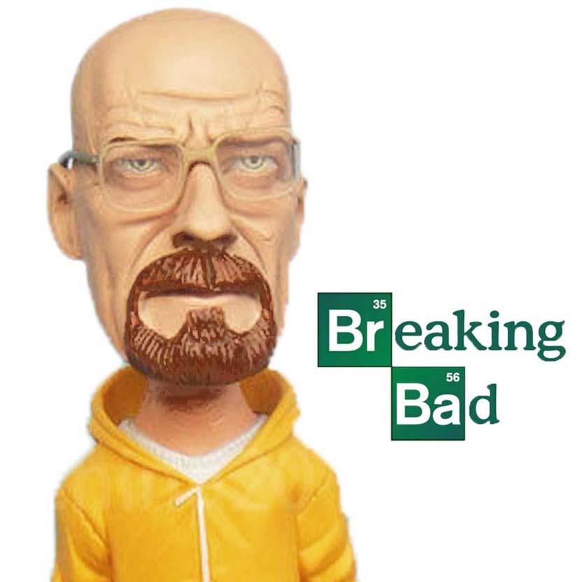 Breaking Bad Walter White Heisenberg Bobblehead Mezco action figure