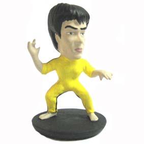 Bruce Lee caricatura