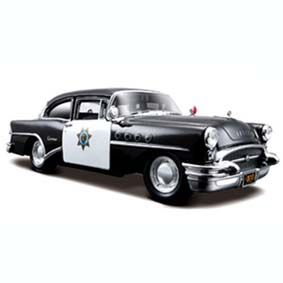 Buick Century California Highway Patrol (1955) Police