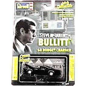 Bullitt Steve McQueen - Dodge Charger (1968)