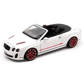 Burago miniaturas 1/18 Bentley Continental Conversível Supersports Cabrio ISR