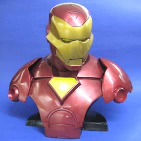 Busto do Homem de Ferro (máscara removível)