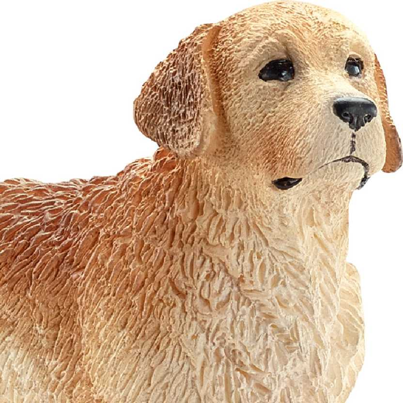 Cão Golden Retriever 16394 marca Schleich Male Golden Retriever
