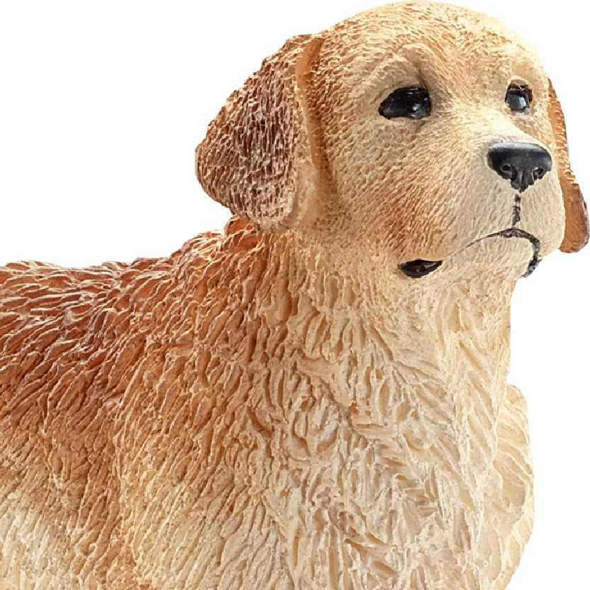 Cão Golden Retriever 16394 marca Schleich Male Golden Retriever