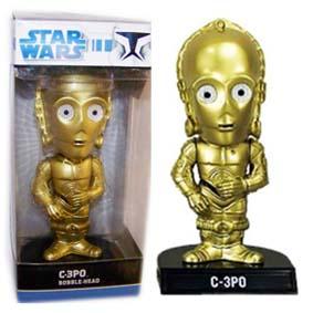 C-3PO Bobble Head com base