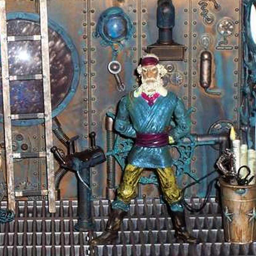 Cabin Control Nemo - 20000 Leagues Under The Sea marca Mezco Toys action figures