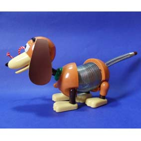 Cachorro do Woody - Slinky -Toy Story - (aberto)