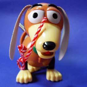 cachorro do woody slinky toy story aberto arte em miniaturas