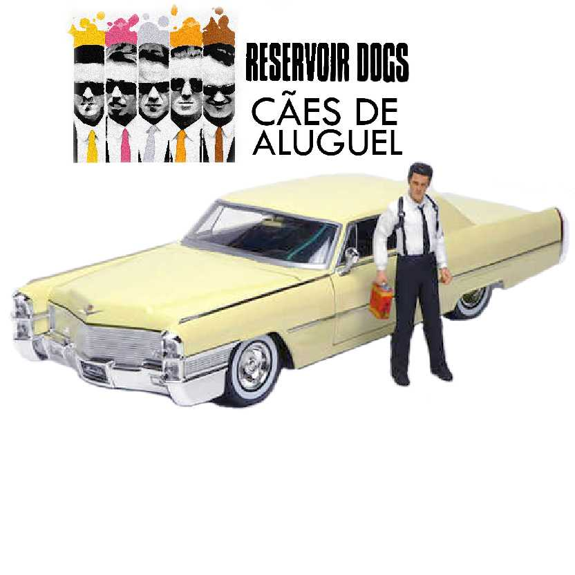 Cadillac Coupe Deville - Cães de Aluguel (1965) Reservoir Dogs Jada Toys escala 1/18