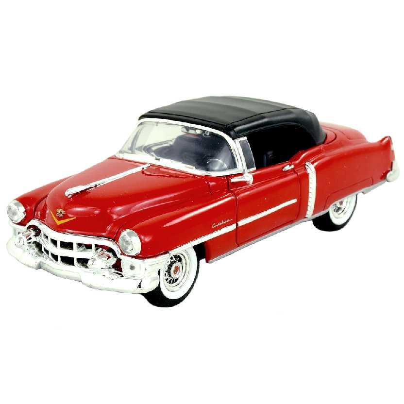 Cadillac Eldorado Convertible / conversível  vermelho (1953) marca Welly escala 1/24