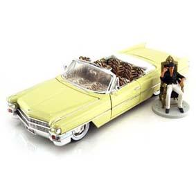 Cadillac Series 62 c/ Al Pacino (Scarface) Miniaturas Jada Toys 1/24