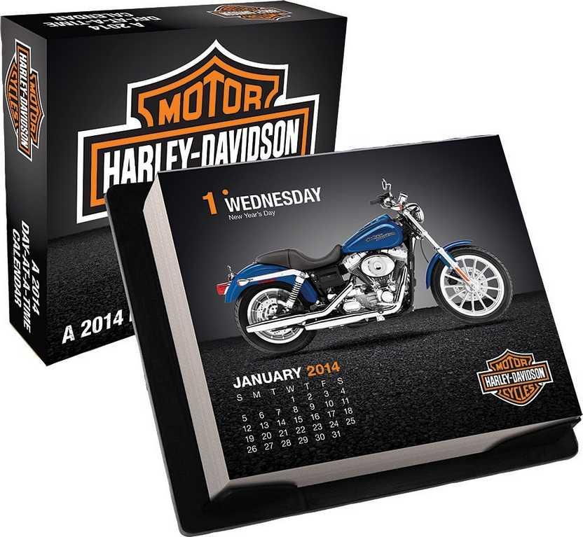 Calendário Harley-Davidson 2014 (todas páginas coloridas)