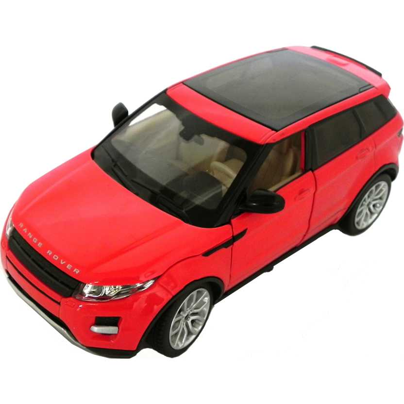 California Action Range Rover Evoque - Land Rover escala 1/24 com som e luz