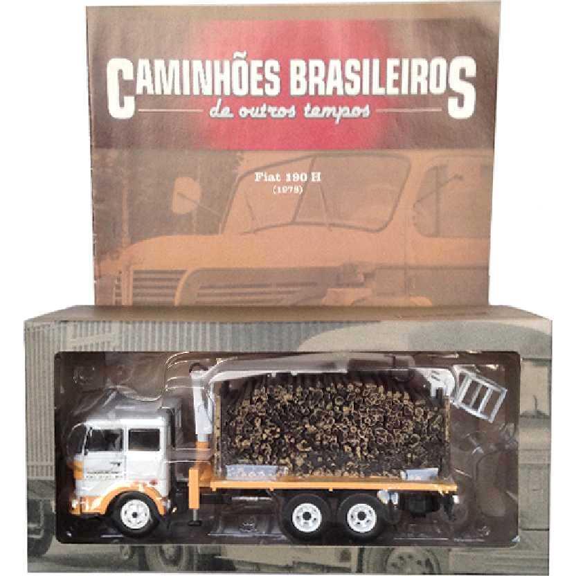 Caminhões Brasileiros De Outros Tempos Fiat 190 H (1978) edição 5 Altaya escala 1/43