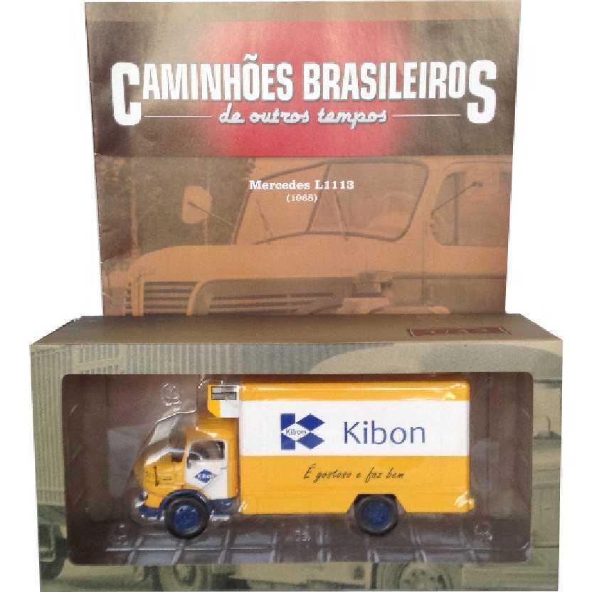 Caminhões Brasileiros De Outros Tempos Mercedes-Benz L1113 Kibon (1968) edição 1 escala 1/43