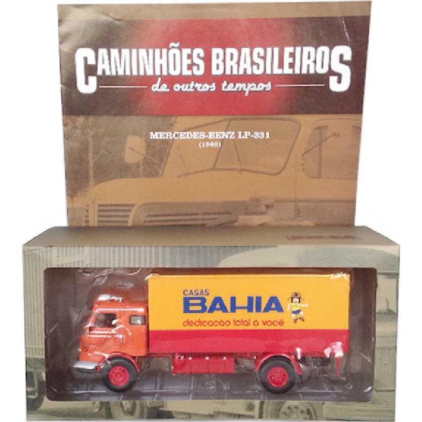 Caminhões Brasileiros De Outros Tempos Mercedes-Benz LP-331 Casas Bahia ed. 4 escala 1/43