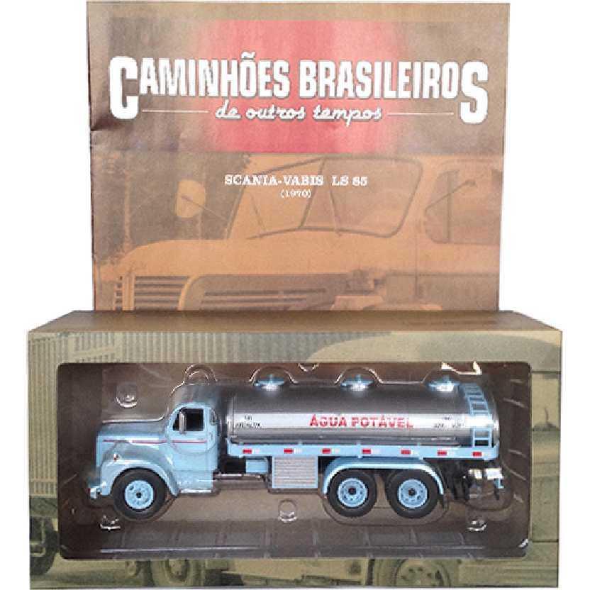 Caminhões Brasileiros De Outros Tempos Scania-Vabis LS 85 (1970) edição 2 escala 1/43