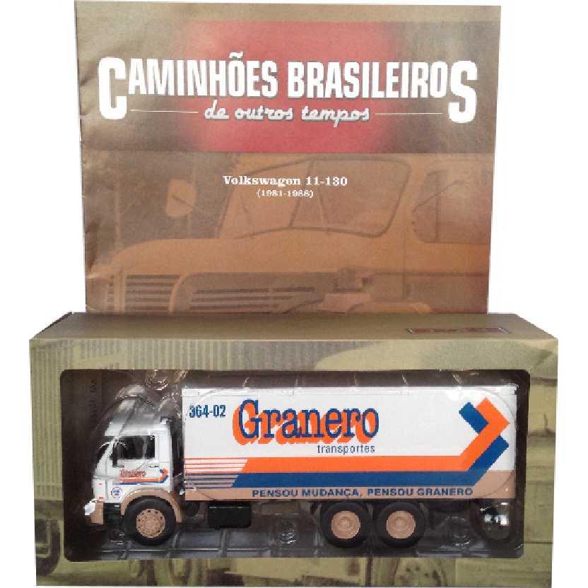 Caminhões Brasileiros De Outros Tempos Volkswagen Granero VW 11-130 edição 18 escala 1/43