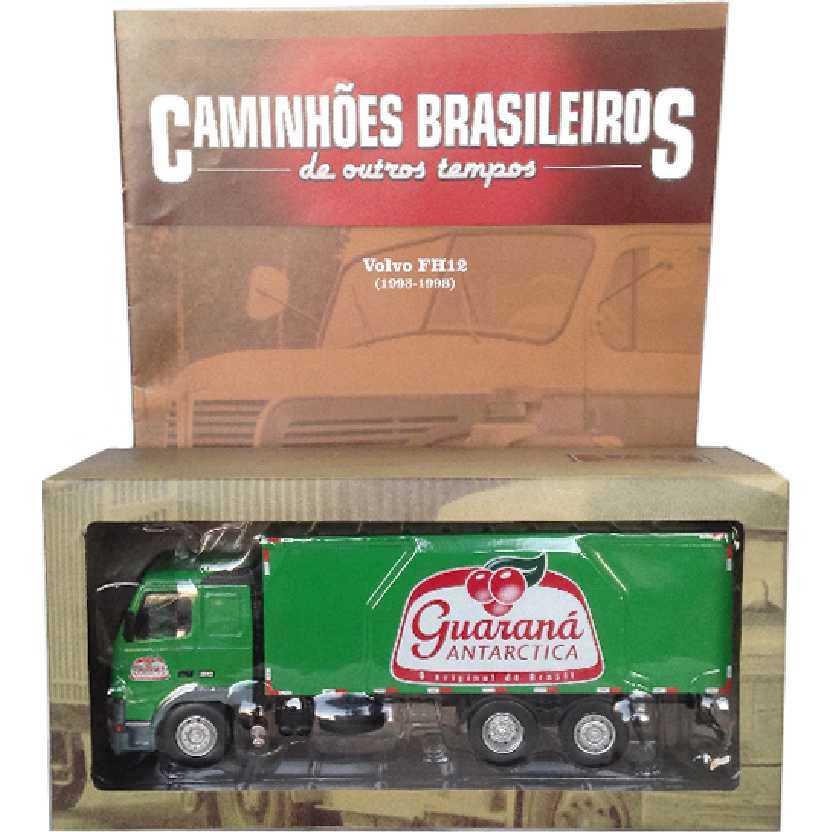 Caminhões Brasileiros De Outros Tempos Volvo FH12 Guaraná edição 22 escala 1/43