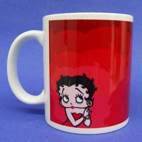 Caneca Betty Voop ( em cerâmica )