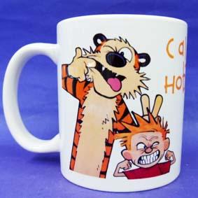 Caneca Calvin e Haroldo