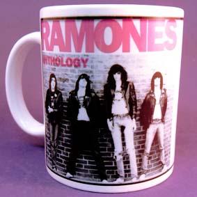 Caneca da banda punk rock Ramones