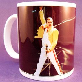 Caneca da banda Queen ( Freddie Mercury )