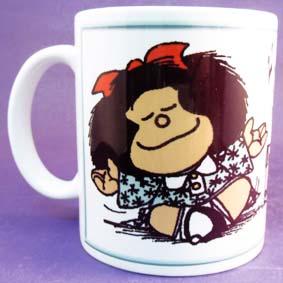 Caneca da Mafalda