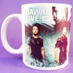 Caneca da nova série Hawaii 5.0 ( Havaí Cinco-0 )