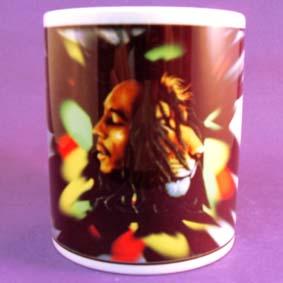 Caneca do Bob Marley - O leão da tribo de Judá