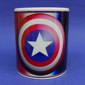 Caneca do Capitão América (em cerâmica) Captain America