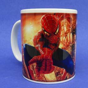 Caneca do filme Homem Aranha ( em cerâmica ) Spiderman The Movie