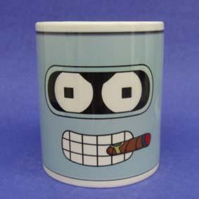 Caneca do Futurama - Bender (em cerâmica)