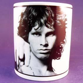 Caneca do Jim Morrison vocalista da banda de rock The Doors