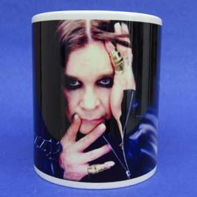 Caneca do Ozzy Osbourne ( em cerâmica )