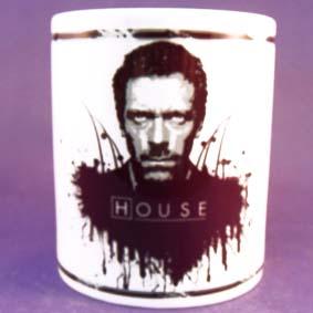 Caneca do seriado House / Dr. Gregory House ( Hugh Laurie )