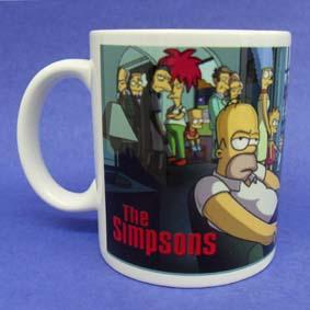Caneca dos Simpsons (em cerâmica) Homer Simpson com charuto