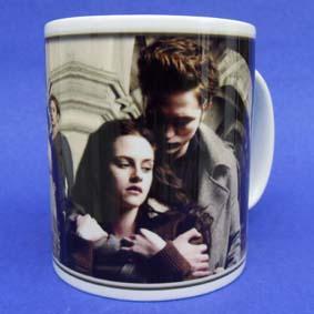 Caneca Família Cullen Crepúsculo Twilight ( em cerâmica ) Bella e Edward