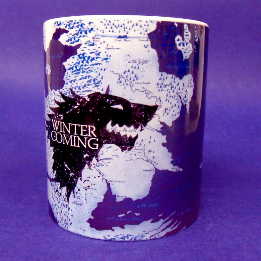 Caneca Game of Thrones -House Stark ( pode ir ao microondas )